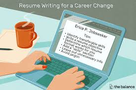 How To Change Career Resume Writing Tips For Changing Careers