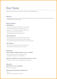 Waitress 4 Resume Examples Pinterest Sample Resume Resume And