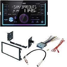 amazon com jvc kw x830bts 2 din digital media receiver featuring Scosche Stereo Wiring Harness at 2012 Silverado Stereo Wiring Harness Available Nearby
