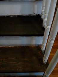 Stair Finishes Pictures Hazardous Design Refinishing The Stairs Part 2 Or How I Fixed A
