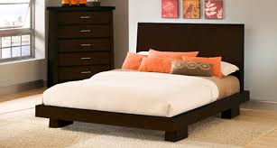 modern platform bed. Simple Platform Hiro Platform Bed U0026 Collection In Warm Ebony For Modern