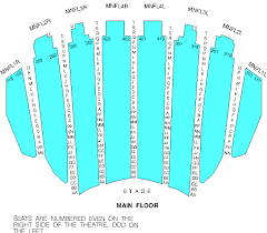 Skillful Chicago Theater Seat Chart Best Seats At The