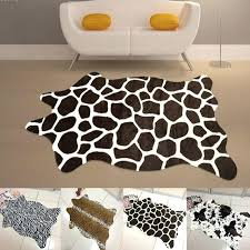 animal print carpet animal rug zebra panda giraffe tiger lion leopard carpet cow print rug faux animal print