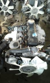 NISSAN TD27 TURBO ENGINE