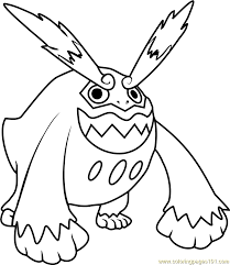 Small Picture Pokemon Coloring Pages Darmanitan Coloring Coloring Pages
