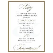 Invitation For 60th Birthday Celebration Classic Birthday Gold Party