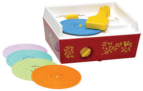 Fisher Price vintage turntable | coolest birthday gifts for 2 year olds The