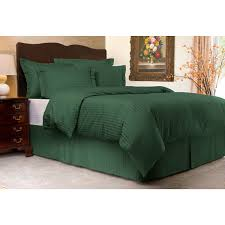 comforter sets ideas collection sateen stripe 300tc duvet cover set twin hunter wonderful solid green