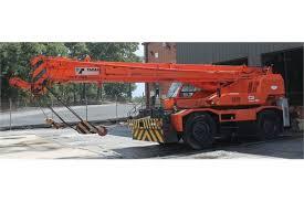 Tadano Crevo 250 Model Tr250m 6 Rough Terrain Crane