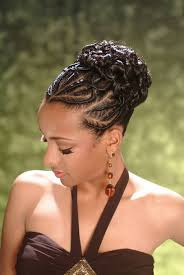 French Braid Updo Hairstyles African American French Braid Updo Hairstyles Hair Pinterest