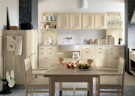 awesome wooden beige kitchen