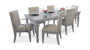 glimmering heights dining table with 4 side chairs