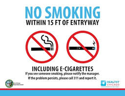 electronic cigarettes no smoke org no smoking sign from chicago that includes electronic cigarettes