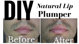 diy natural lip plumper