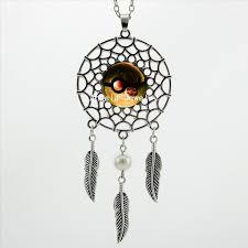 Dream Catcher Pokemon 100 Trendy Style Dream Catcher Jewelry Pokemon Necklace Glass 43
