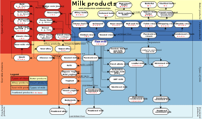 Food Company Product Tree Diagram Dairy Product Wikipedia