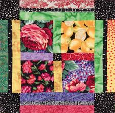 Can't cut it? Quilt patterns for large-print fabrics - Stitch This ... & Detail of a quilt from Blended Borders Adamdwight.com