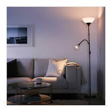 ikea floor lighting. Image Is Loading IKEA-NOT-FLOOR-UPLIGHT-READING-LAMP-BLACK-WHITE- Ikea Floor Lighting