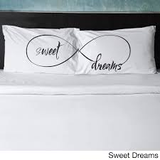 Pillowtalk Pillowcases, Pillowcases with Phrases (Set of 2) - Free Shipping  On Orders Over $45 - Overstock.com - 17742560