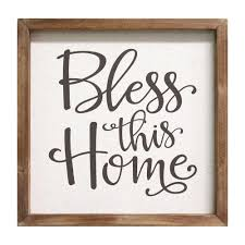 on bless this home wall art with stratton home decor bless this home wall art
