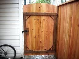 wooden fence door image of wood fence gate hardware ideas diy sliding wood fence gate