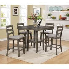 high kitchen table set. Tahoe 5 Piece Counter Height Dining Set High Kitchen Table I