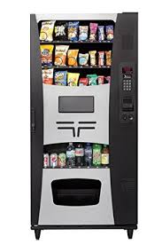 How To Put Vending Machines In Stores Extraordinary Amazon Trimline II Combo Snack Cold Drink Vending Machine