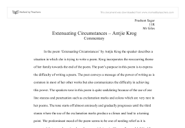 extenuating circumstances commentary antjie krog international  document image preview