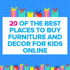 20 The Best Places To Buy Furniture And Decor For Kids line