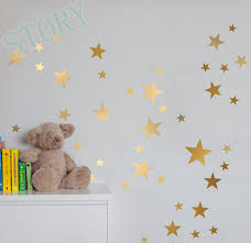 gold stars wall decal vinyl stickers golden star kids on star wall art designs with 13 star wall art ixxi star wars wall art hiconsumption