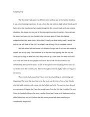 in shakespeare love in twelfth night essay love in twelfth  2 pages camping trip essay