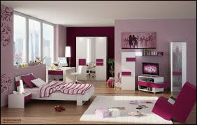 Purple Flower Wallpaper For Bedroom Teens Bedroom Feminine Themes Teens Room Interior Home Come With