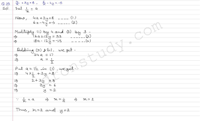 linear equations in two variables ex 3b q 29 to q 41 r s aggarawal dronstudy com