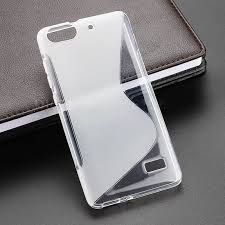 Anti Skiding S Line Gel TPU Slim Soft Case Back Cover For Huawei ...