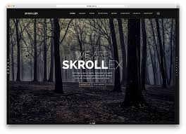 Parallax Website Template Gorgeous 28 Minimal HTML28CSS28 Parallax Website Templates 28 Colorlib