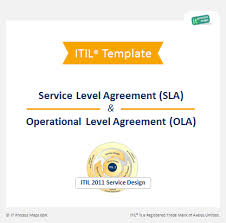 help desk service level agreement template checklist sla ola it process wiki