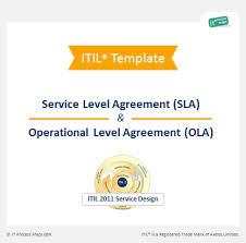 Sla Organisation Chart Checklist Sla Ola It Process Wiki