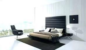 modern black headboard modern black leather tufted headboard bed contemporary bedroom modern black metal headboard