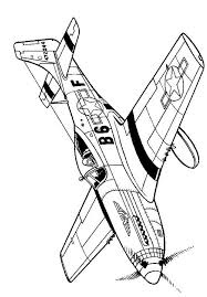 drawn aircraft coloring book 7