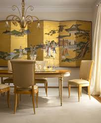 Dinning Rooms:Chinese Dining Room Idea With Light Dining Table Also Light  Dining Chairs And