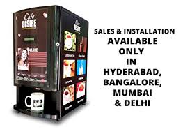 Automatic Vending Machine In India Extraordinary Buy Café Desire Coffee Tea Vending Machine 48 Lane Multicolor