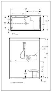 advanced barrier free shower stall d9712453 barrier free shower stalls canada