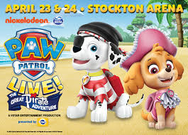 Paw Patrol Live The Great Pirate Adventure Asm Global