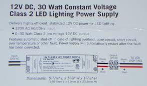 armacost lighting 12v low voltage led lighting power supply output 30 watt max 12v dc cur indoor lighting low voltage transformers com