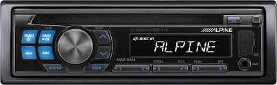 alpine cde 110 cd receiver at crutchfield com Alpine CDE 100 Specs at Alpine Cde 100 Wiring Diagram