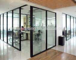 office partition for sale. frameless glass office partition wall transparent divider for hotel sale