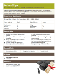 student tutor example template for student resume