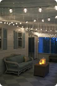porch lighting ideas. Simple Screened Porch Light - Outdoor String Lights Make Everything Look Pretty And Are Easy To Lighting Ideas T