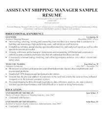 Resume For Warehouse Manager Joefitnessstore Com