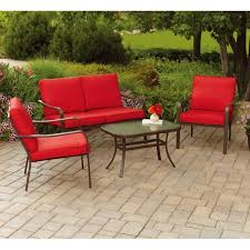 lazy boy outdoor furniture cushions sensational exterior wrought iron patio furniture with red cushions and lazy